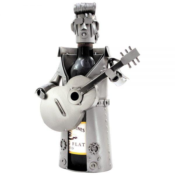 King of rock kitaristi viinipulloteline