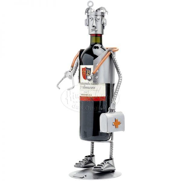 Lääkäri viinipulloteline