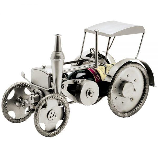 Viinipulloteline traktori