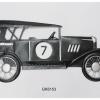 Vintage kilpa-auto seinäkoriste