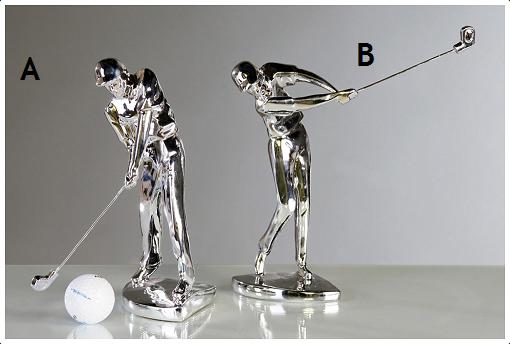 Golffaaja patsas A