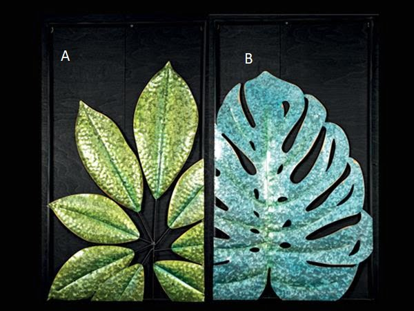 Seinäveistos The Leaf A