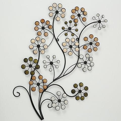 Kukka-aiheinen seinäkoriste Nizza