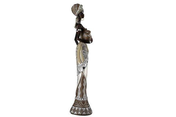 Afrikkalaisnainen patsas Lady Nairobi